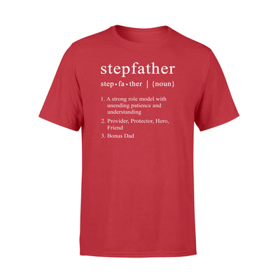 Stepfather Tshirt - Gifts For Dad