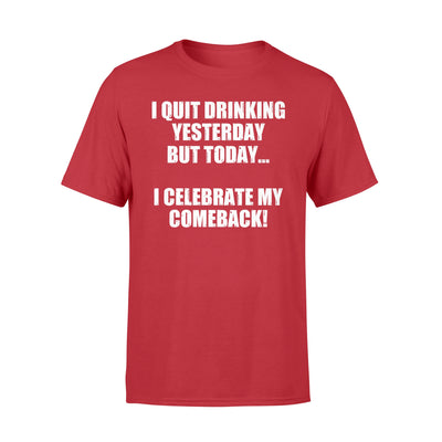 Beer comeback t-shirt