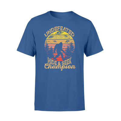 undefeated hide and seek champion tshirt - gifts for camping lovers
