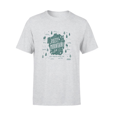 Moutains tshirt - gifts for camping lovers