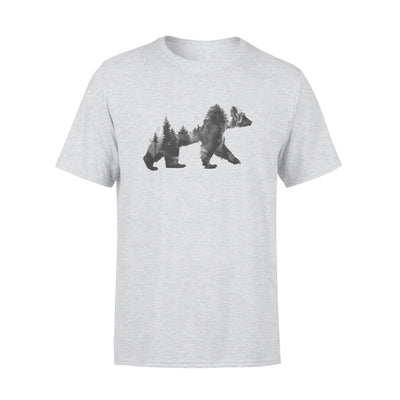 WALKING BEAR SHIRT - GIFT FOR CAMPING LOVER