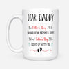 i'll be snuggled up in mommy tummy but next father's day i'll be cuppled up with you mug - fathers day mugs