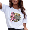 Faith over fear breast cancer awareness shirt GST