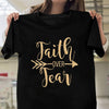 faith over fear tshirt gift for christian