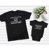 Father's Day Of 2020 The One Where We Stay At Home Shirt Dad And Baby Gift