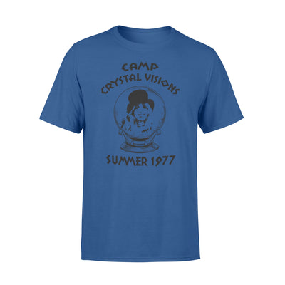 Camp crystal visions summer 1977 tshirt - gifts for camping lovers