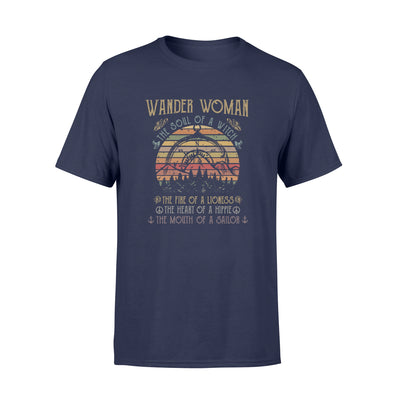 WANDER WOMAN THE SOUL OF A WITCH SHIRT - GIFT FOR CAMPING LOVERS