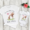 G2 Personalized our first mothers day giraffe shirts Gsge