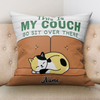 Personalized Gift For Cat Lover This Is My Couch Pillow