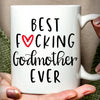 Funny Gift For Godmother Best Fucking  godmother Ever Mug  GS