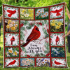 I am always with you cardinal blanket GST