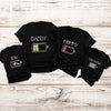 Family matching - Mommy daddy son daughter battery matching family shirt - GST