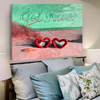 Personalized God Knew My Heart Need You Canvas