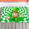 LeprechaunSt Patrick's Day Doormat