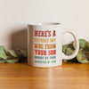 Funny Father's Day Gift For Father In Law Bought By Your Daughter In Law Mug