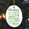Chirstmas in Heaven - Memorial Ornament