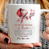 G2-To my husband in heaven cardinal mug memorial gifts - GST