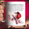 G1-To my husband in heaven cardinal mug memorial gifts - GST