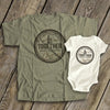 Personalized Our First Fathers Day Together Shirts Gsge