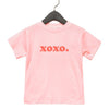 Gifts for kids - Valentine cute xoxo t-shirt - GST