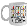 Zoom teacher funny mug Gift for teacher