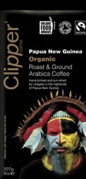 Clipper Papua New Guinea Roast & Ground Arabica Coffee 227gm