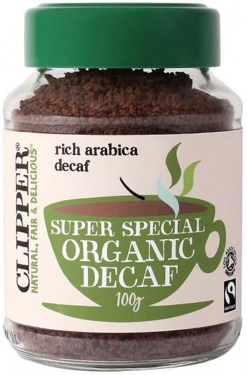 Clipper Super Special Organic Decaf Rich Arabica Coffee 100g