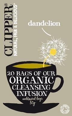 Clipper Organic Cleansing Infusion - Dandelion 20Teabags