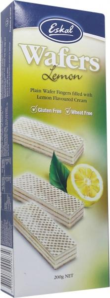 Eskal Wafers Lemon 200g