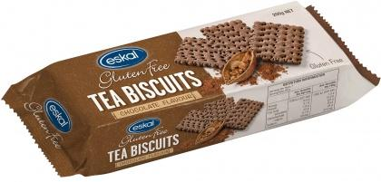 Eskal Tea Biscuits Chocolate G/F 200g
