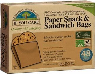 If You Care Sandwich Bags 48Pcs