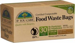 If You Care Food Waste Bags 30Bags (3 Gallon)