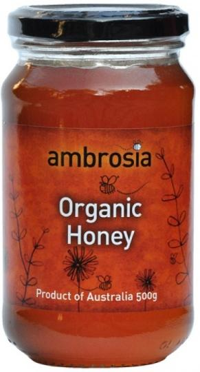 Ambrosia Organic Honey G/F 500g