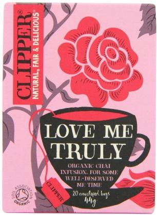 Clipper Love Me Truly - Organic Chai Cinnamon Infusion 20 Teabags