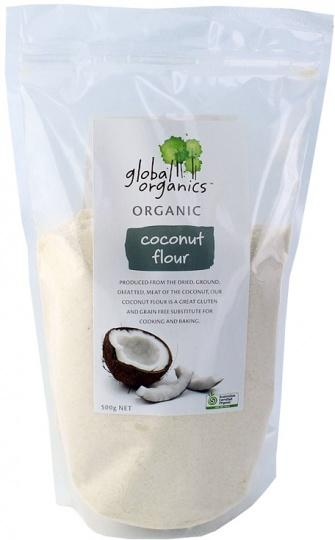 Global Organics Coconut Flour 500g