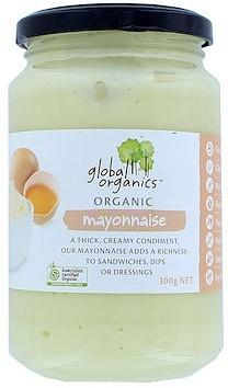 Global Organics Traditional Mayonnaise 300g
