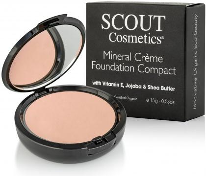 Scout Cosmetics Foundation Creme Compact Almond 15g