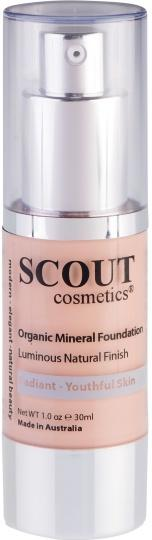 Scout Cosmetics Foundation Fluid Healthy Glow Almond 30ml