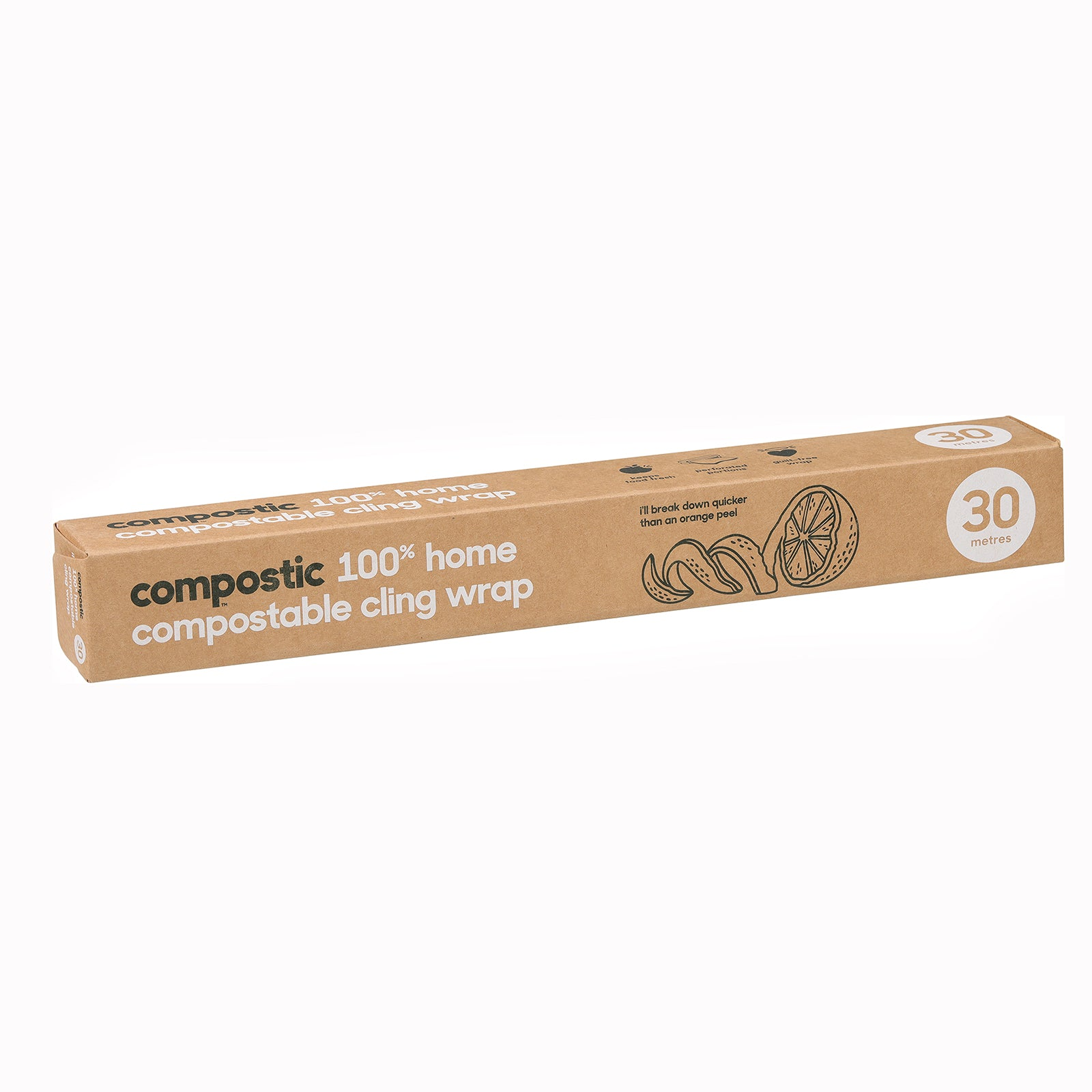 Compostic Home Compostable Cling Wrap - 30 metres