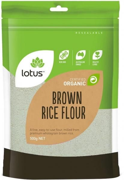 Lotus Organic Brown Rice Flour BD 500gm