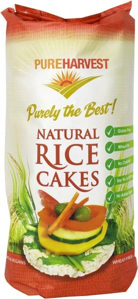 Pure Harvest G/F Rice Cakes Natural 150g