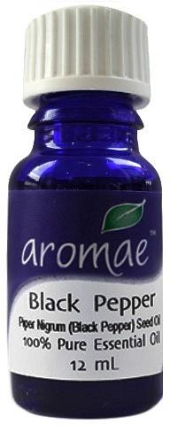 Aromae Black Pepper Essential Oil 12ml
