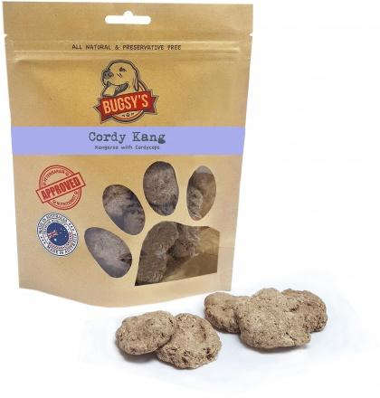 Bugsy's Pet Treats Cordy Kang Kangaroo with Cordyceps 70g