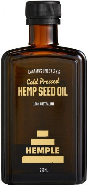 Hemple Cold Pressed Hemp Seed Oil 250ml