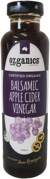Ozganics Organic Balsamic Apple Cider Vinegar Dressing G/F 350ml