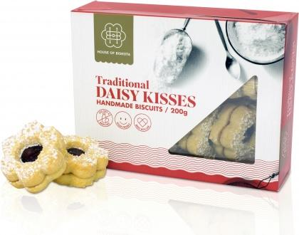 House of Biskota Traditional Daisy Kisses Biscuits 200g