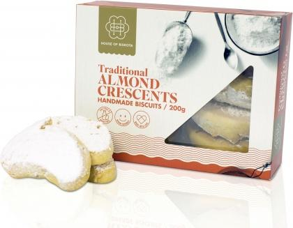 House of Biskota Traditional Almond Crescents Biscuits 200g