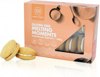 House of Biskota Gluten Free Melting Moments Biscuits 200g