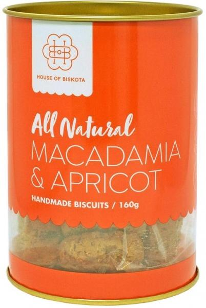 House of Biskota All Natural Macadamia & Apricot Biscuits G/F 160g