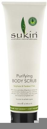Sukin Purifying Body Scrub Tube 200ml*+